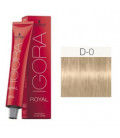 Igora Royal D-0 Mezcla Natural 60ml Schwarzkopf Professional tinte de pelo