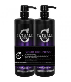 Tigi Duo Pack Catwalk Your Highness Elevating Shampoo&Conditioner