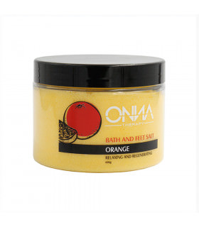 Onna Bath And Feet Salt Orange 600g