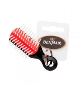 Denman Cepillo Mini Llavero Negro