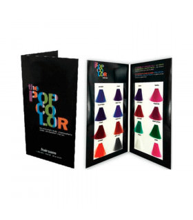 Hairgum Carta Colores Tinte Semiper. Popcolor