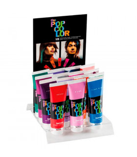 Hairgum Expositor/presentador Tinte Pop Color