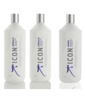 Pack Icon Drench (2uds x 1000ml) + Inner Home (1000ml)