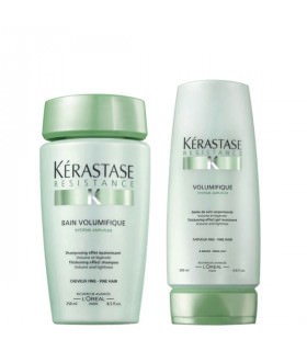 Duo Kerastase Resistance Volumifique Bain Volumifique (250ml) + Gelée Volumifique (200ml)