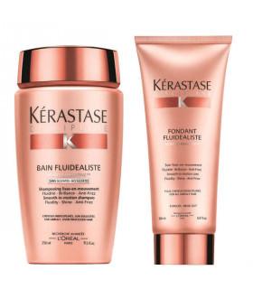 Kerastase Discipline Duo: Shampoo (250ml) + Fondant Fluidealiste (200ml)