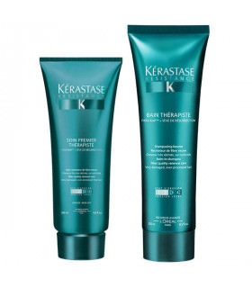 Kerastase Duo New Résistance Therapiste: Champú (250ml) + Acondicionador (200ml)