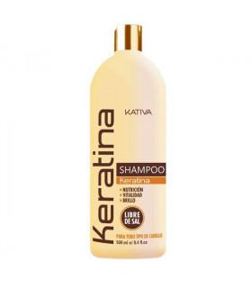 Kativa Keratina Shampoo Nutrición 500ml