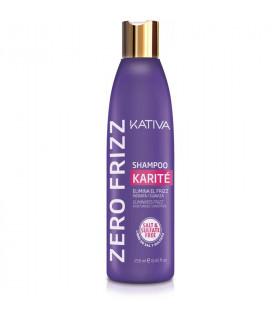 Kativa Zero Frizz Shampoo Karité 250ml
