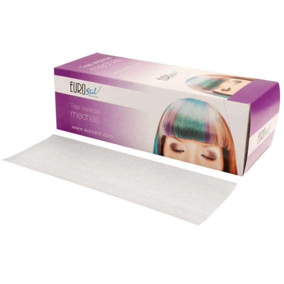 Eurostil Caja 100 Tiras Especial Mechas