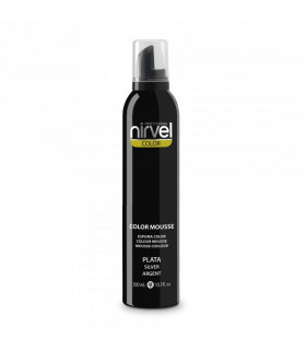 Nirvel Color Mousse Plata 300ml