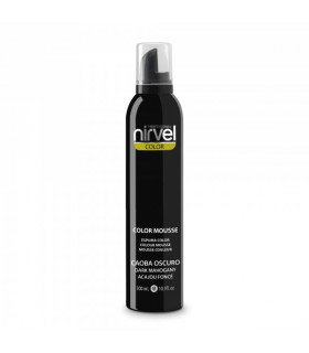 Nirvel Color Mousse Caoba Oscuro 300ml