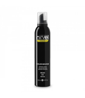 Nirvel Color Mousse Rojo 300ml