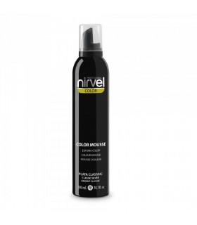 Nirvel Color Mousse Plata Classic 300ml