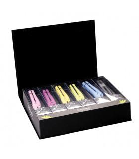 Eurostil Kit 6 Mini Planchas Cerámica Colores