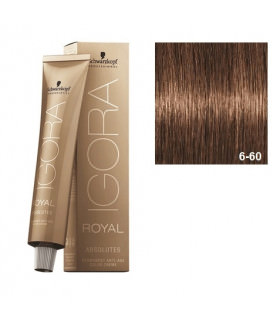 Schwarzkopf Professional Igora Royal Absolutes 6-60 Rubio Oscuro Marrón Natural 60ml