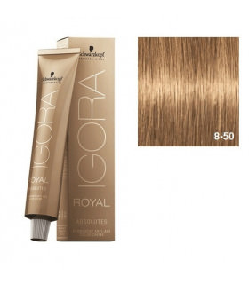 Schwarzkopf Professional Igora Royal Absolutes 8-50 Rubio Claro Dorado Natural 60ml