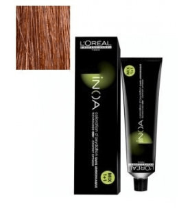 Inoa L'Oréal 6,40 Rubio Oscuro Cobrizo Intenso 60ml tinte de pelo