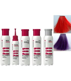 Elumen Kit Completo V V@ALL Violeta (200ml) + RR@ALL Rojo (200ml)