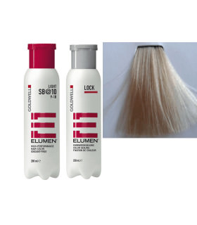 ELUMEN DUO: TINTE SB@10 (200ML) + TRATAMIENTO SELLADOR (250ML)