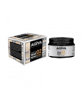 Agiva Hair Pigment Wax 02 Color Black 120gr