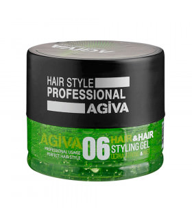 Agiva Hair Gel 700Ml 06 Ultra Strong Wet