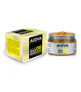 Agiva Hair Pigment Wax 06 Color Gold 120gr