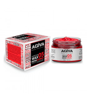 Agiva Hair Pigment Wax 05 Color Red 120gr