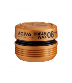 Agiva Cream Wax 08 Pomade / Shine Finish Medium Control 175Ml