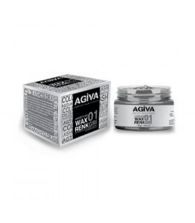 Agiva Hair Pigment Wax 01 Color Ash 120gr