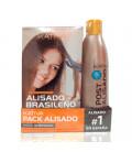 Kativa Kit De Alisado Brasileño + Shampoo Post Alisado 250ml