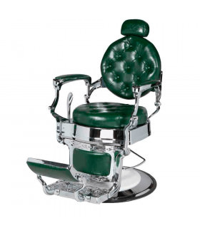 Sillon de Barbero Classic Chicago Verde
