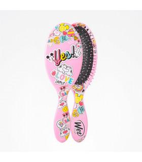 Wet Brush Pro Cepillo Ovalado Peace Love Mickey