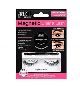 Ardell Kit Pestañas Magnéticas Demi Wispies + Magnetic Gel Liner