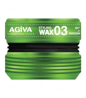 Agiva Styling Cream Wax 03 Matte Wax 175ml