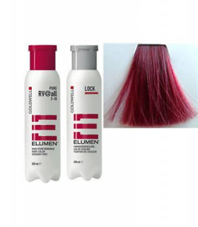 Elumen Duo Tinte RV@all Rojo Violeta Fantasía 200ml + Tratamiento Sellador 250ml