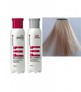 Elumen Duo: Tinte SV@10 (200ml) + Tratamiento Sellador (250ml)