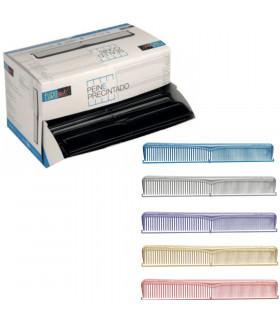 Eurostil Peines Desechables Precintados Colores Metalizados 100 u/d