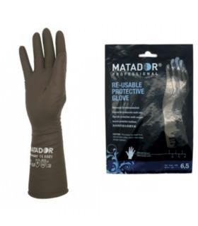 Matador Guantes Profesionales Reutilizables Caucho 2u/d
