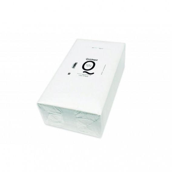 Quickepil 100 Toallas Celulosa Doblado Indiv. 43x75 cm