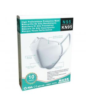 Mascarillas N95-KN95 FFP2 10u/d