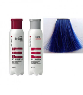 Elumen Duo: Tinte BL@all Azul Fantasía (200ml) + Tratamiento Sellador (250ml)