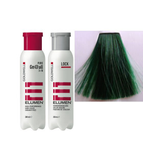 Elumen Duo: Tinte GN@all Verde Fantasía (200ml) + Tratamiento Sellador (250ml)