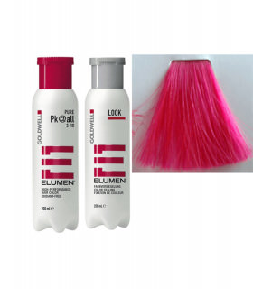 Elumen Duo: Tinte PK@all Fucsia (200ml) + Tratamiento Sellador (250ml)