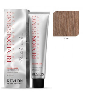 Revlonissimo Colorsmetique 7.24 Rubio Perlado Cobrizo Revlon 60ml
