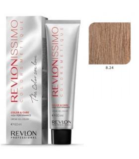 Revlonissimo Colorsmetique 8.24 Rubio Claro Perlado Cobrizo Revlon 60ml