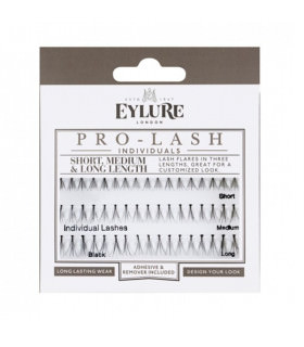 Eylure Black Lashes (short, medium & long)