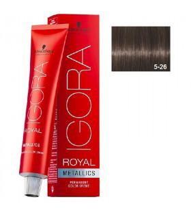 Igora Royal 5-26 Castaño Claro Mate Marrón 60ml Schwarzkopf Prof. tinte de pelo