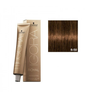 Schwarzkopf Prof. Igora Royal Absolutes 6-50 Rubio Oscuro Dorado Natural 60ml