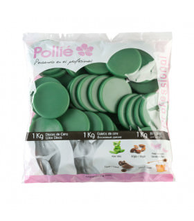 Pollié Bolsa 1kg Discos de Cera Aloe Vera