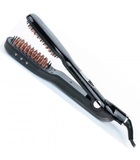 Perfect Beauty Cepillo Plancha Steam Brush Black